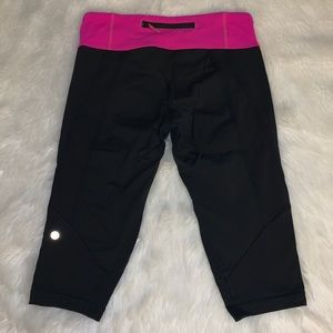 Lululemon Fast and Free Cropped Leggings Sz8